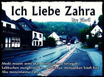 Cerpen Ich Liebe Zahra